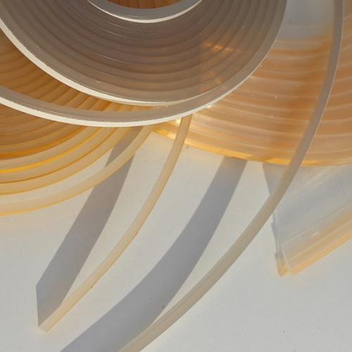 Silikonprofil  Dichtlippe für Brandschutz und Glasbodenplatten