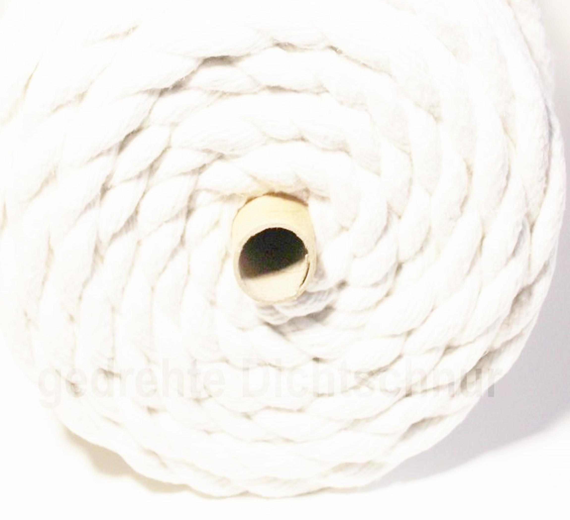 gedrehte Keramikfaser Dichtschnur 1260°C Heizung Kessel Sanitär Dichtung Dichtband