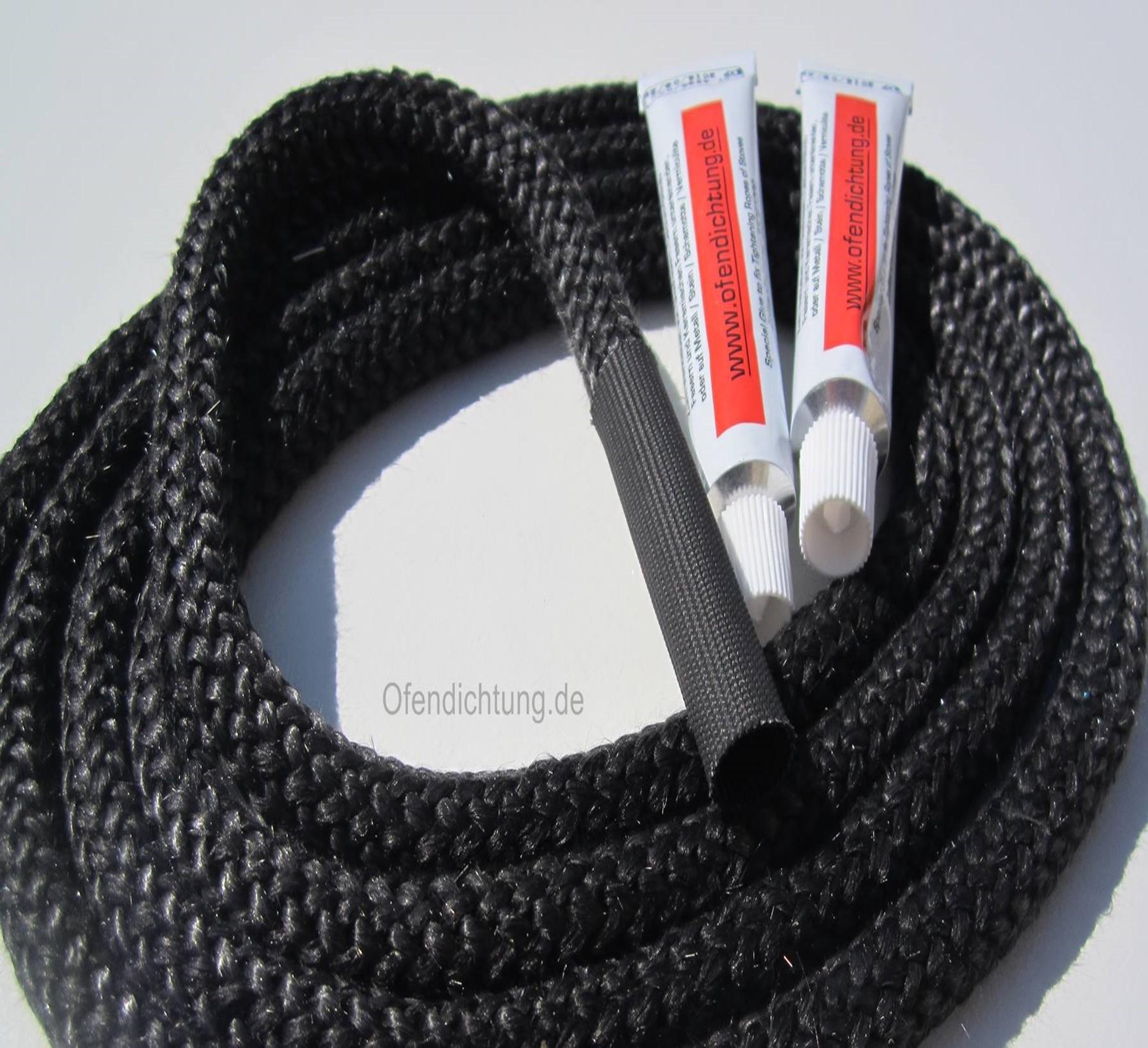 hitzebeständiges Dichtschnur set mit 2 hochtemperatur kleber Verbindungshülse