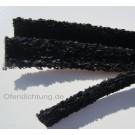 Dichtband boucle schwarz 10x5,15x4,18x4,25x4,30x4 Culimeta Ofendichtung Kaminofen