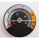 magnetisches Ofenthermometer , Thermometer für Kaminöfen mit Magnet
