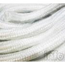 Glasfaserpackung und Schlauchpackung Heizung und Sanitär 450°C