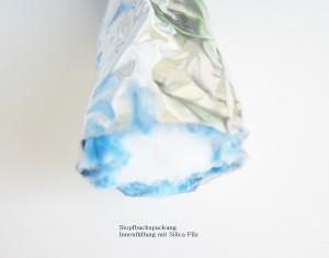 Silontex Faser Garn HKO Schlauchpackung gefüllt mit Silica Filz